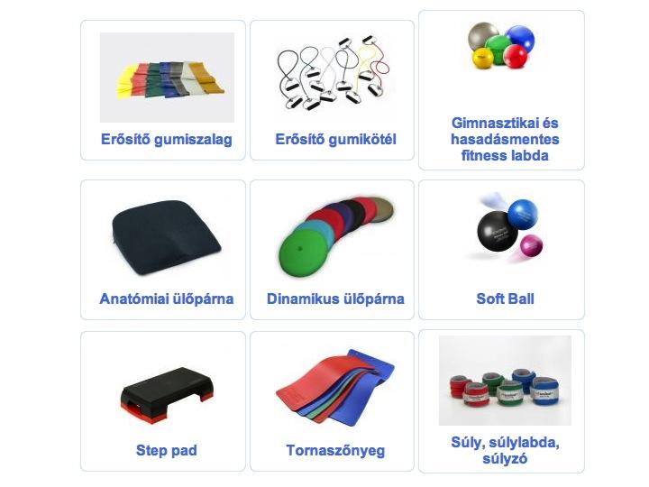 Speciális gyógytorna eszközök